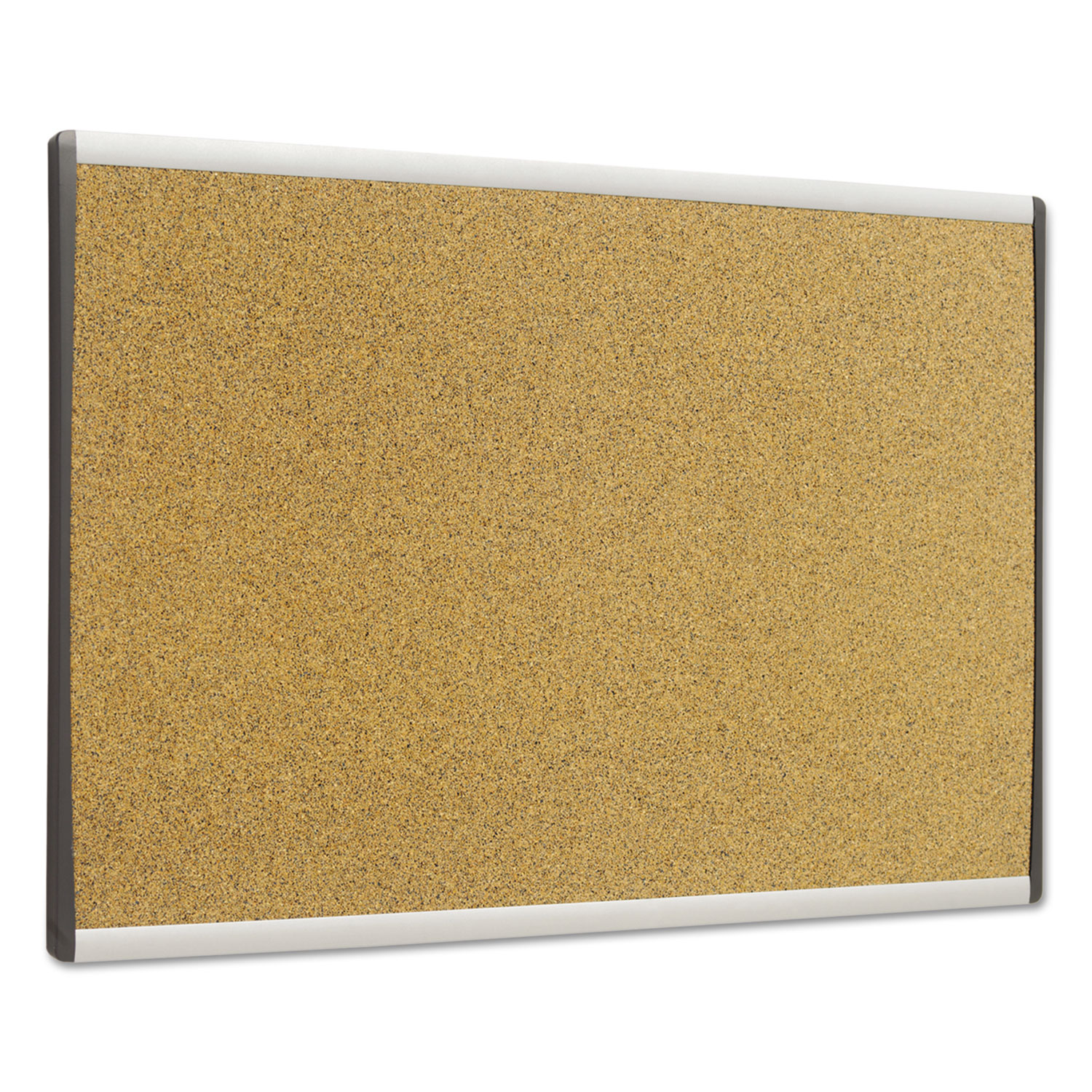 Picture of ARC Frame Cork Cubicle Board, 14 x 24, Tan, Aluminum Frame