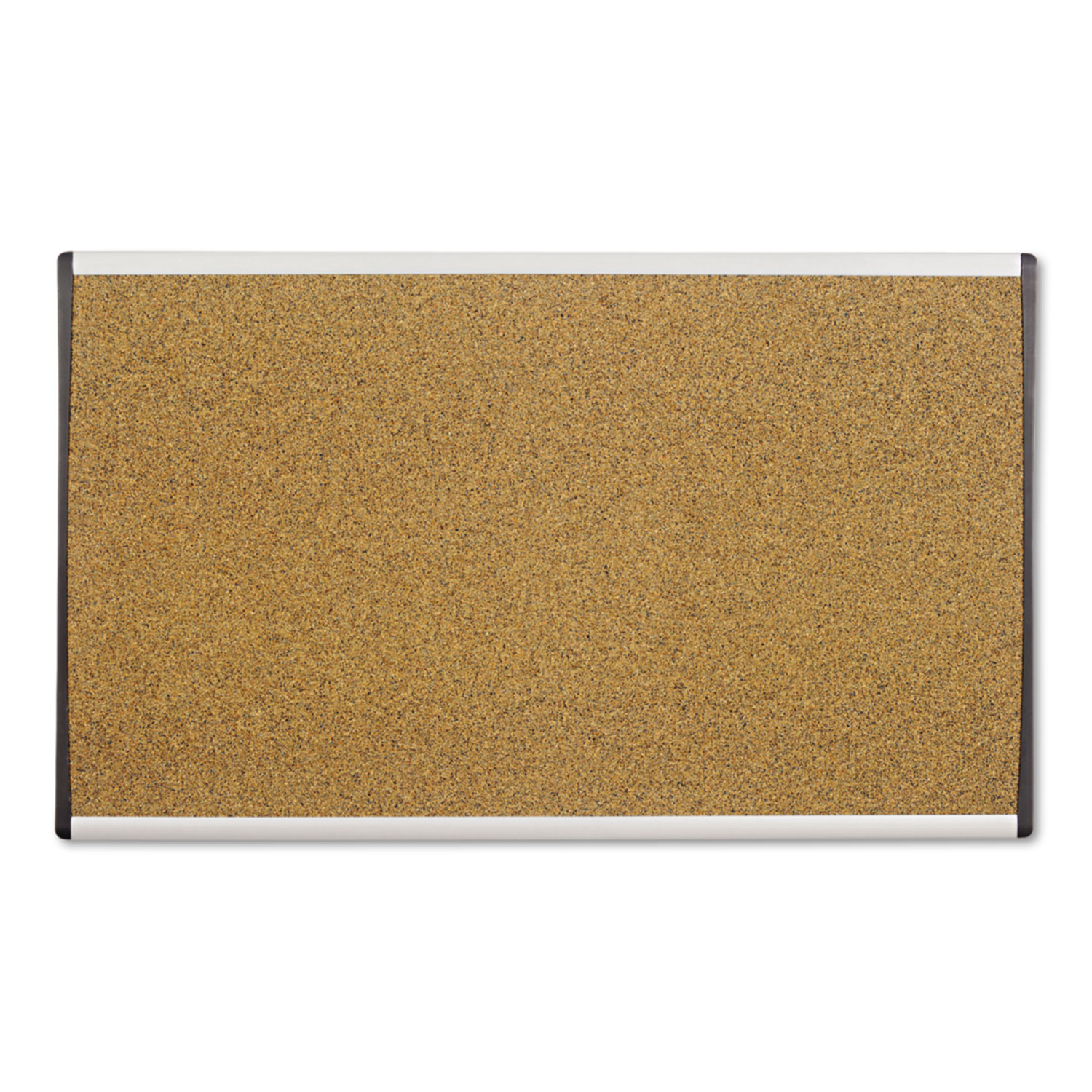 Picture of ARC Frame Cork Cubicle Board, 18 x 30, Tan, Aluminum Frame