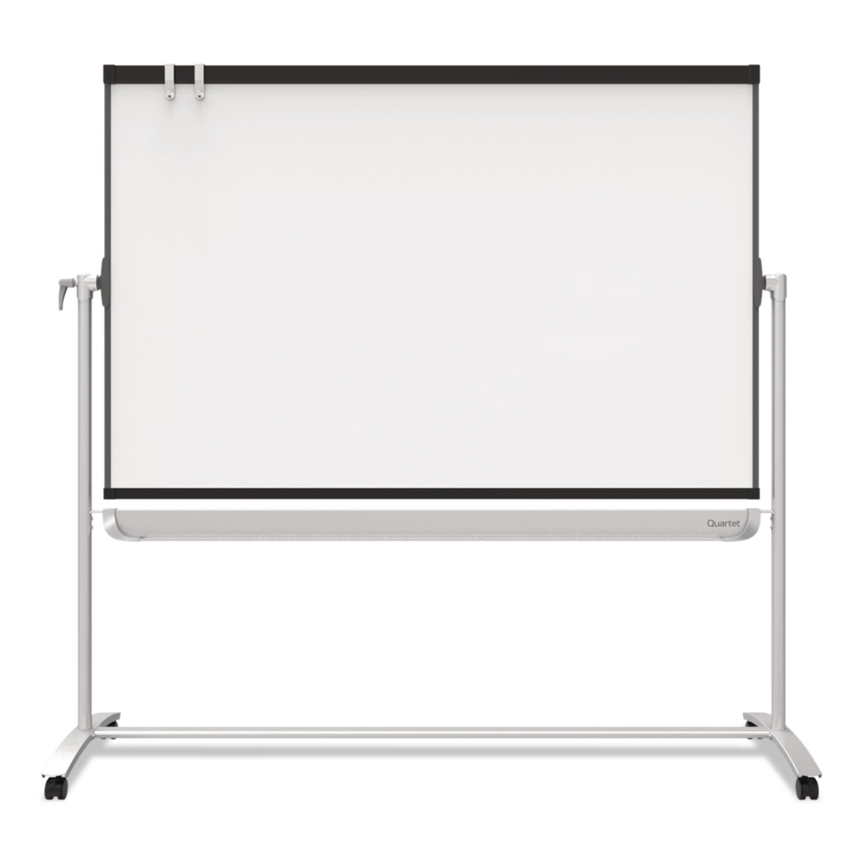 Picture of Prestige 2 Mobile Presentation Easel,  6 ft x 4 ft, Silver/Graphite