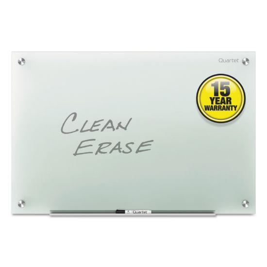 Picture of Infinity Glass Marker Board, Frosted, 24 x 18