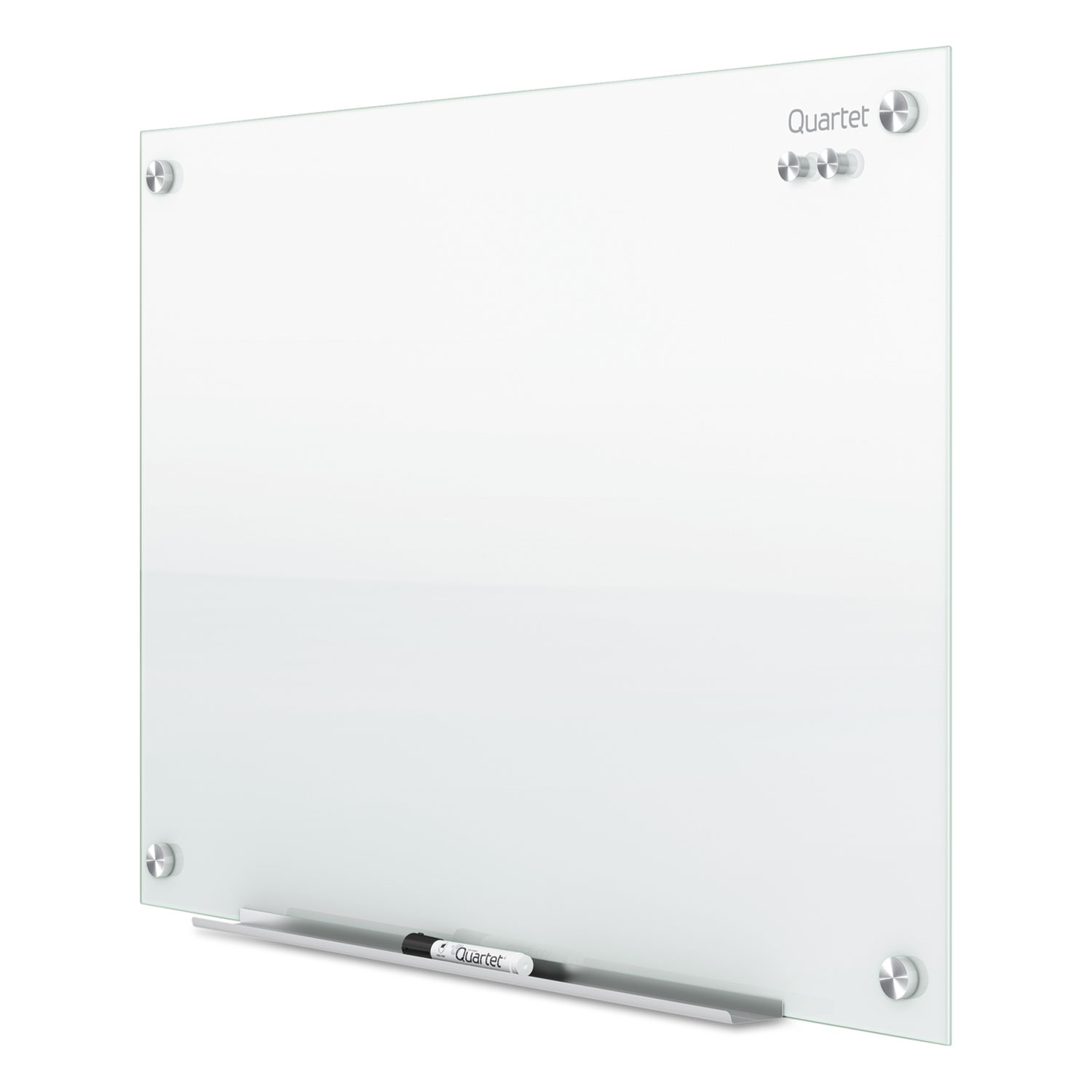Picture of Infinity Magnetic Glass Marker Board, 48 x 36, White