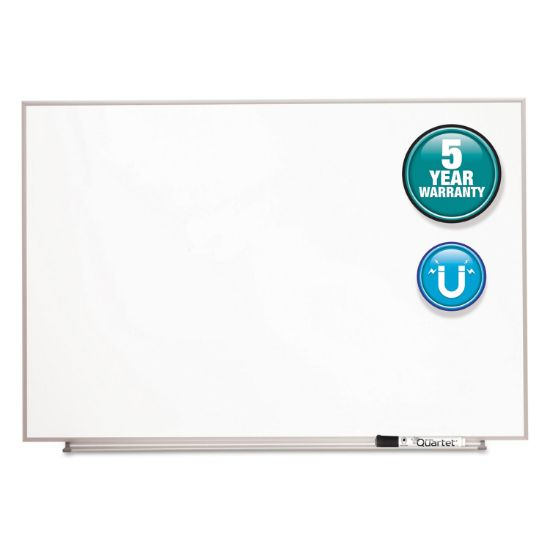 Picture of Matrix Magnetic Boards, Painted Steel, 34 x 23, White, Aluminum Frame
