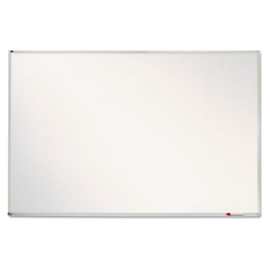 Picture of Porcelain Magnetic Whiteboard, 72 x 48, Aluminum Frame