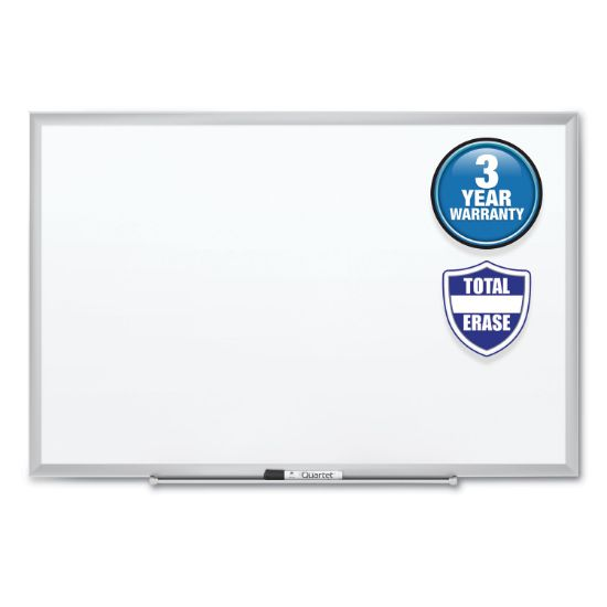 Picture of Classic Series Total Erase Dry Erase Board, 36 x 24, Silver Aluminum Frame