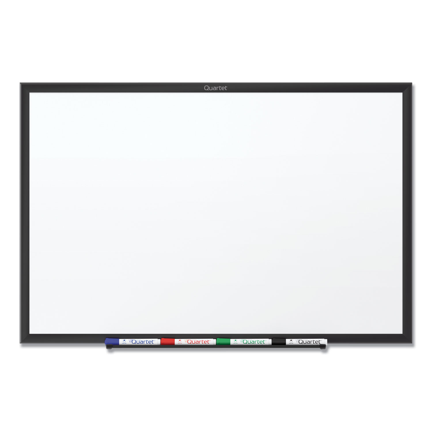 Picture of Classic Series Total Erase Dry Erase Board, 36 x 24, White Surface, Black Frame