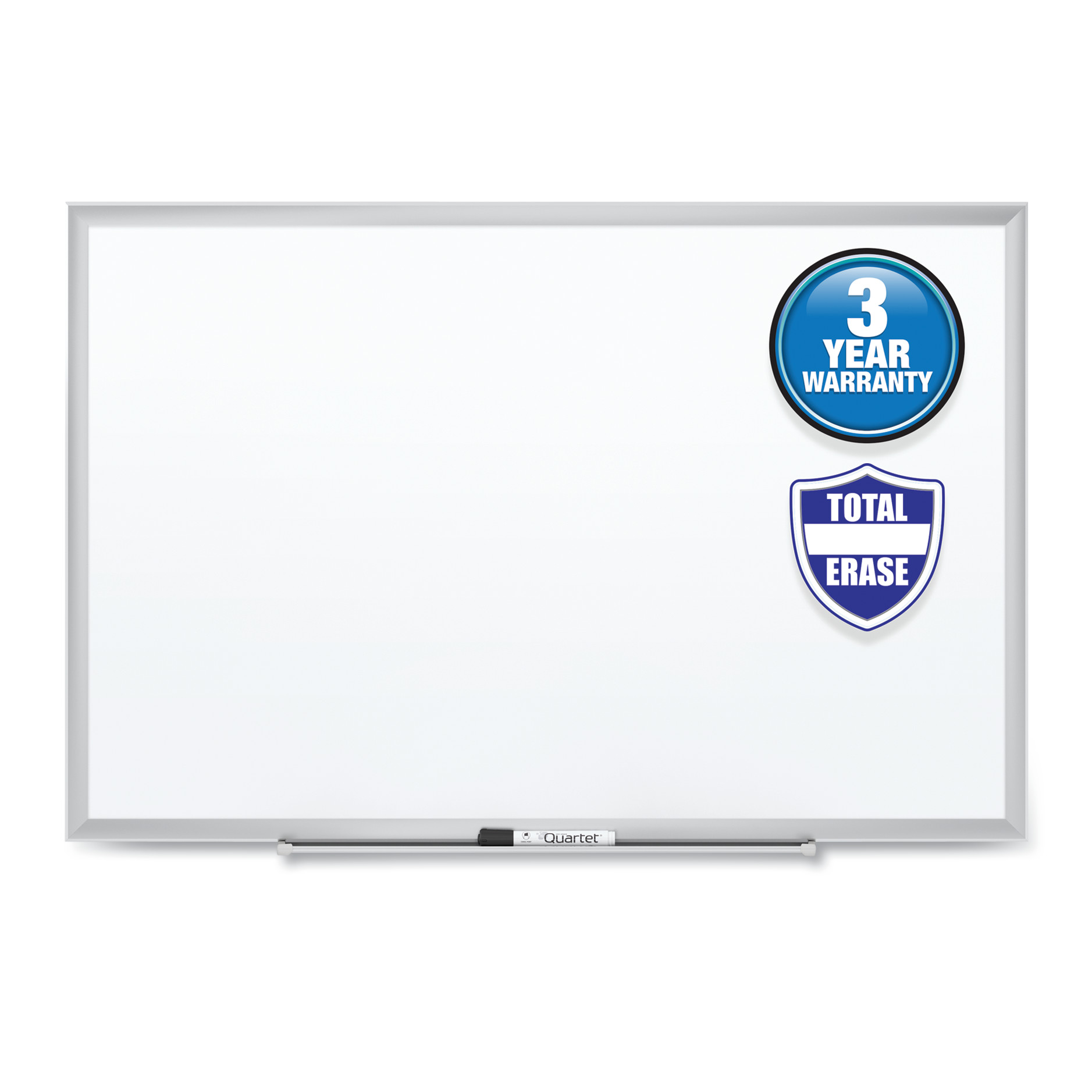 Picture of Classic Series Total Erase Dry Erase Board, 60 x 36, Silver Aluminum Frame