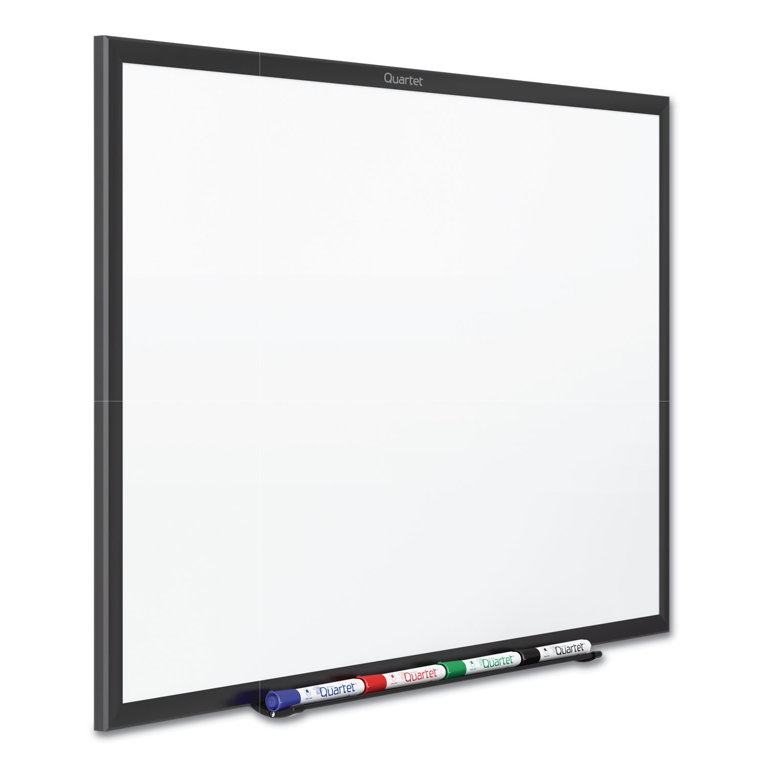 Picture of Classic Series Total Erase Dry Erase Board, 96 x 48, White Surface, Black Frame