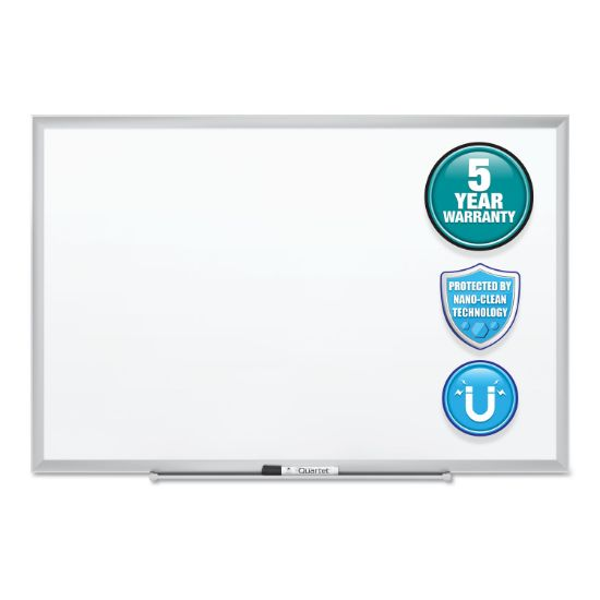 Picture of Classic Series Nano-Clean Dry Erase Board, 72 x 48, Silver Frame
