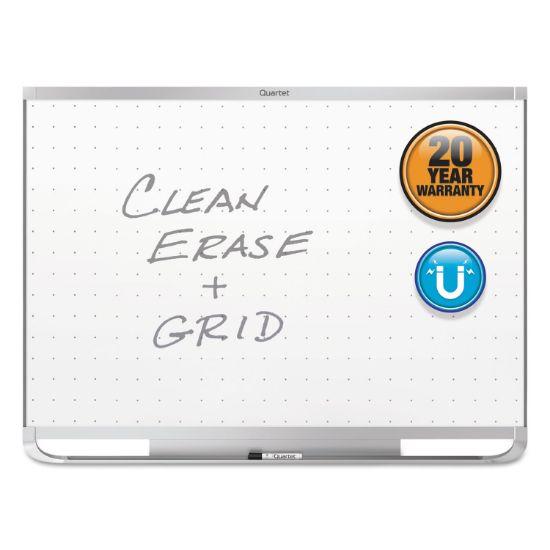Picture of Prestige 2 Magnetic Total Erase Whiteboard, 48 x 36, Aluminum Frame