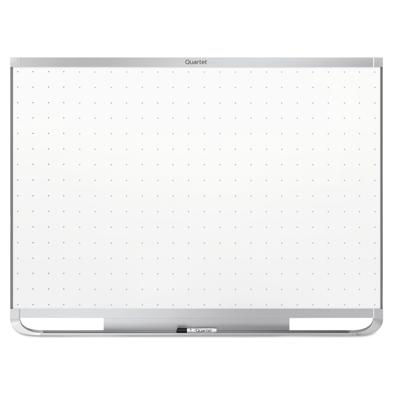 Picture of Prestige 2 Magnetic Total Erase Whiteboard, 72 x 48, Aluminum Frame