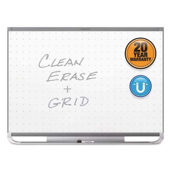 Picture of Prestige 2 Magnetic Total Erase Whiteboard, 72 x 48, Graphite Frame