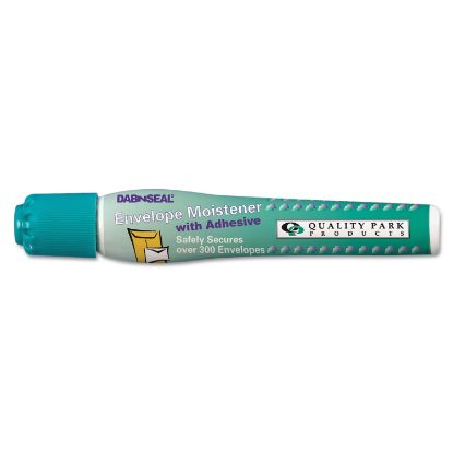 Picture of Dab n' Seal 2Go Moistener Pens, 10 mL, Teal, 2/Pack