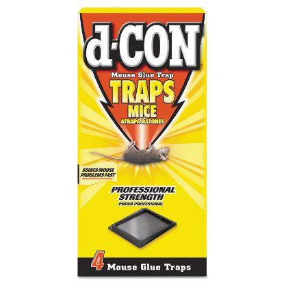 Picture of Mouse Glue Trap, Plastic, 4 Traps/Box, 12 Boxes/Carton