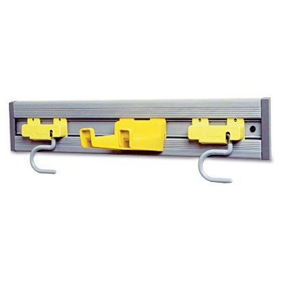 Picture of Closet Organizer/Tool Holder, 18w x 3.25d x 4.25h, Gray