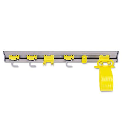 Picture of Closet Organizer/Tool Holder, 34w x 3.25d x 4.25h, Gray