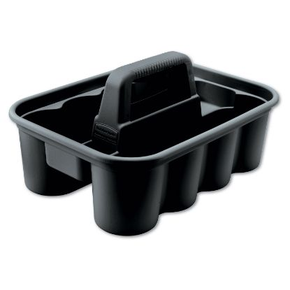 Picture of Deluxe Carry Caddy, 8-Compartment, 15w x 7.4h, Black