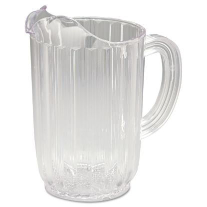 Picture of Bouncer Plastic Pitcher, 32oz, Clear
