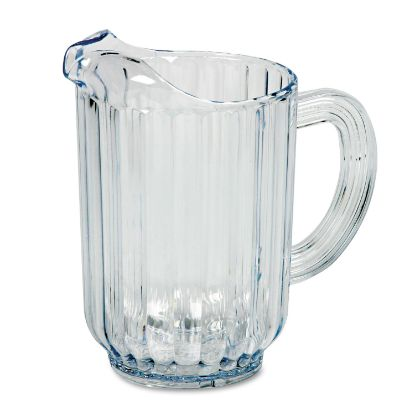 Picture of Bouncer Plastic Pitcher, 60oz, Clear