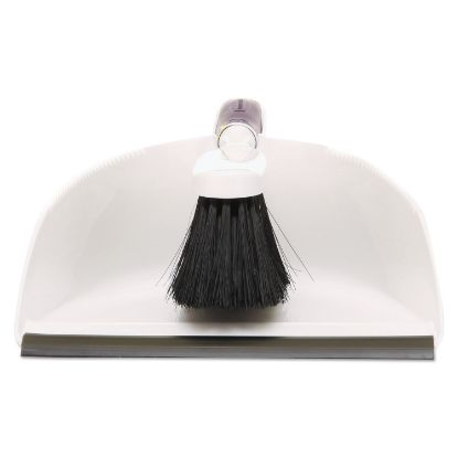 Picture of Duster Brush w/Plastic Dustpan, White