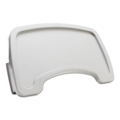 Picture of Sturdy Chair Microban Youth Seat Tray, Plastic, Platinum