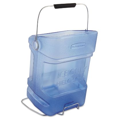 Picture of Ice Tote, 5.5gal, Blue, With Hook Assembly