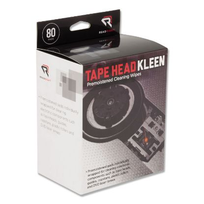 Picture of Tape Head Kleen Pad, Individually Sealed Pads, 5 x 5, 80/Box