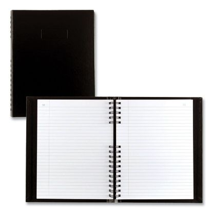 Picture of AccountPro Records Register Book, Black Cover, 7.69 x 10.25, 300 White Pages