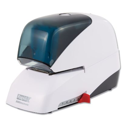 Picture of 5050e Professional Electric Stapler, 60-Sheet Capacity, White