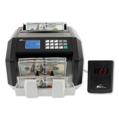 Picture of Back Load Bill Counter w/ Value Counting/Counterfeit Detection, 1400 Bills/Min