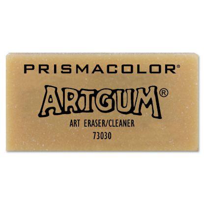 Picture of ARTGUM Eraser, Rectangular, Large, Off White, Kneaded Rubber, Dozen