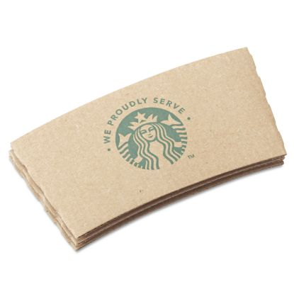 Picture of Cup Sleeves, For 12/16/20 oz Hot Cups, Kraft, 1380/Carton