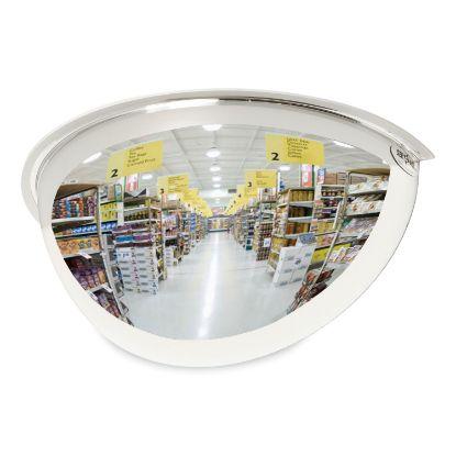 "Picture of Half-Dome Convex Security Mirror, 18"" Diameter"