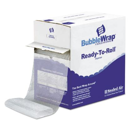 """Picture of Bubble Wrap® Cushioning Material in Dispenser Box, 3/16"""" Thick, 12"""" x 175 ft."""