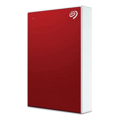 Picture of Backup Plus External Hard Drive, 5 TB, USB 2.0/3.0, Red