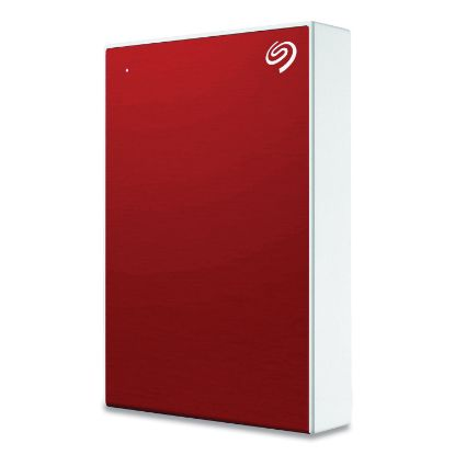 Picture of Backup Plus External Hard Drive, 4 TB, USB 2.0/3.0, Red