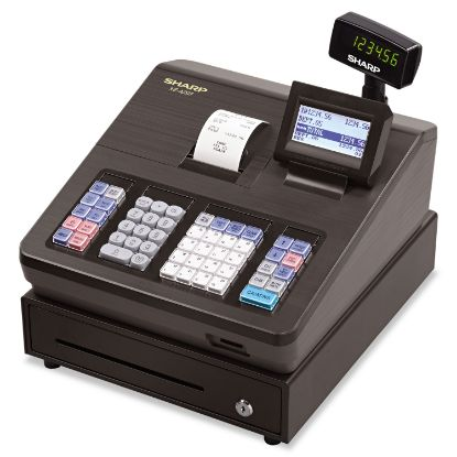 Picture of XE Series Electronic Cash Register, Thermal Printer, 2500 Lookup, 25 Clerks, LCD