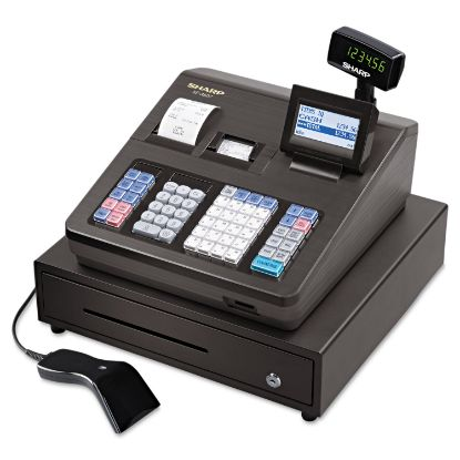 Picture of XE Series Cash Register w/Scanner, Thermal Printer, 7000 Lookup, 40 Clerks, LCD
