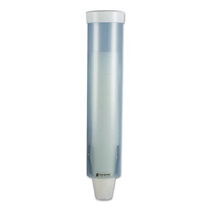 Picture of Adjustable Frosted Water Cup Dispenser, Wall Mounted, Blue
