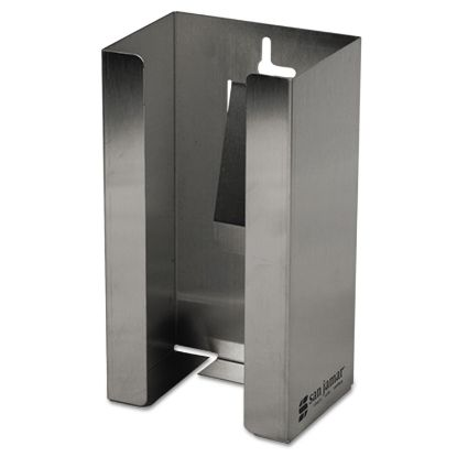 Picture of Stainless Steel Disposable Glove Dispenser, Single-Box, 5 1/2w x 3 3/4d x 10h