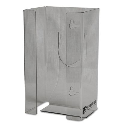 Picture of Clear Plexiglas Disposable Glove Dispenser, Single-Box, 5 1/2w x 3 3/4d x 10h