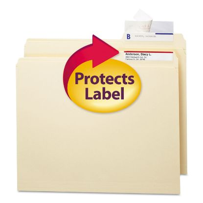 Picture of Seal & View File Folder Label Protector, Clear Laminate, 3-1/2x1-11/16, 100/Pack