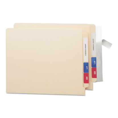 Picture of Seal & View File Folder Label Protector, Clear Laminate, 8 x 1-11/16, 100/Pack