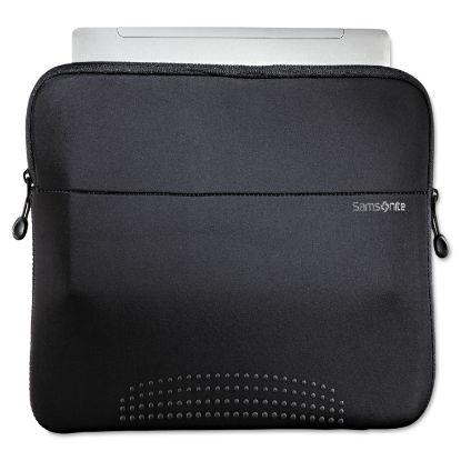 "Picture of 14"" Aramon Laptop Sleeve, Neoprene, 14-1/2 x 1 x 10-1/2, Black"