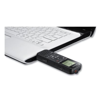 Picture of ICD-PX370 Digital Voice Recorder, 4 GB, Black