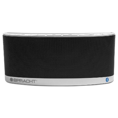 Picture of blunote 2 Portable Wireless Bluetooth Speaker, Silver