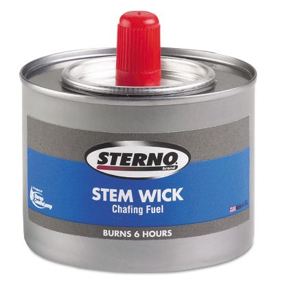 Picture of Chafing Fuel Can With Stem Wick, Methanol,1.89g, Six-Hour Burn, 24/Carton