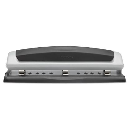 """Picture of 10-Sheet Precision Pro Desktop Two-to-Three-Hole Punch, 9/32"""" Holes"""