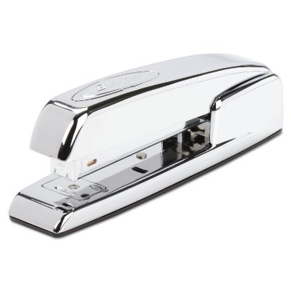 Picture of 747 Business Full Strip Desk Stapler, 25-Sheet Capacity, Polished Chrome