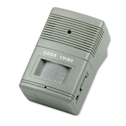 Picture of Visitor Arrival/Departure Chime, Battery Operated, 2.75w x 2d x 4.25h, Gray