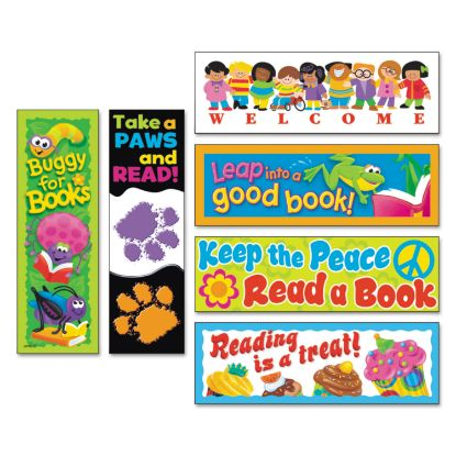 Picture of Bookmark Combo Packs, Celebrate Reading Variety #1, 2w x 6h, 216/Pack
